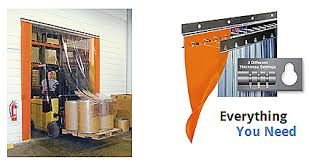 Overhead Door Curtains Industrial Curtains Akon Curtain And Dividers