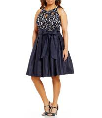 plus size cocktail u0026 party dresses dillards