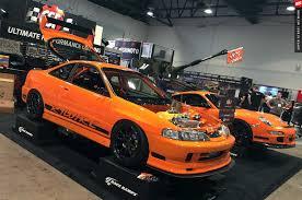 bright orange cars the csf u0026 rywire honda integra gt3