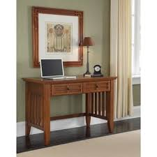 Computer Desk Styles Mission Style Ash Oak Desk Free Shipping Today Overstock Com