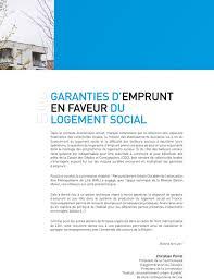 si es sociaux lille garanties d emprunt en faveur du logement social pdf
