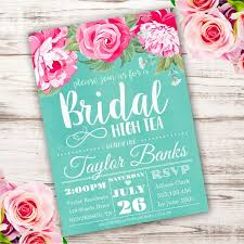bridal luncheon invitations templates printable bridal hight tea invitation template invite your guests