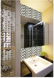 wholesale white stone with crackle crystal mosaic tile sheet
