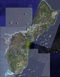 Map Of Guam Guam Communications Facilities Eyeball