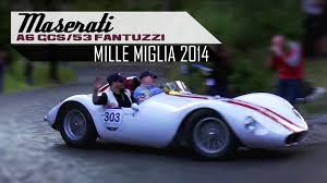 1954 maserati a6gcs maserati a6 gcs 53 fantuzzi mille miglia 2014 engine sounds