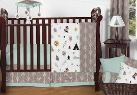 Crib Bedding Boys Outdoor Adventure Nature Baby Bedding 4pc Or Boys Crib Set