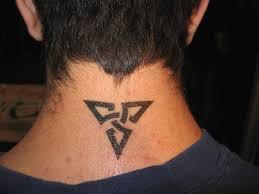 small neck tattoos for men tribal design 5 inspiring mode