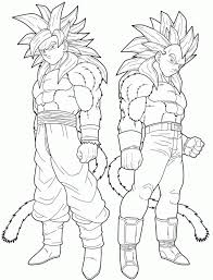 goku super saiyan 5 coloring pages kids adults