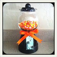 diy gumball machine halloween candy jar using fish bowl u0026 clay
