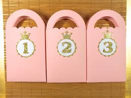 pink favor bags princess party favor bags gold and pink birthday pink