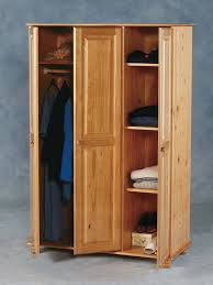 Solid Pine Wardrobes Sol 3 Door Wardrobe 295 00 Tbs Discount Furniture A Large