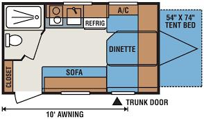 small travel trailer floor plans 2016 sportsmen classic 14rbt ultra lightweight travel trailer k z rv