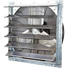 shutter exhaust fan 24 iliving 4200 cfm power 24 in variable speed shutter exhaust fan