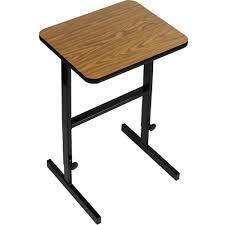 desk height for 6 2 correll 2 ft adjustable height desk standing desk height height