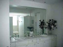 bathroom mirrors frameless frameless bathroom mirror image of wall mirrors for gym frameless
