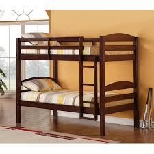 Bunk Beds Espresso Carolina Solid Wood Bunk Bed Espresso Bunk Beds Wke