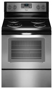 Whirlpool Cooktop Cleaner Whirlpool 4 8 Cu Ft Self Cleaning Freestanding Electric Range