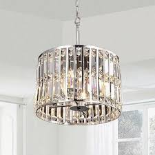 Crystal Glass Chandelier Harlow Round Crystal Chandelier