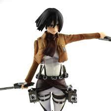 Mikasa by Anime Shingeki No Kyojin Attack On Titan Mikasa Ackerman Figure