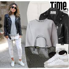 street style for over 40 leather jacket outfit ideas for women over 40 2018 style debates