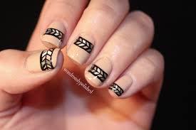 wondrously polished simple tribal print u0026 zoya u0027s avery