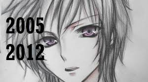my manga drawings since i started to 2012 youtube