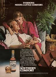 Southern Comfort 1981 Vintage Booze Southern Comfort