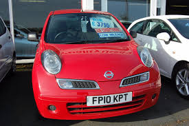 nissan red car used nissan micra visia red cars for sale motors co uk