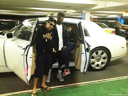 rolls royce limo dappy from n dubz books a white rolls royce phantom from limo broker