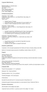 Resume Skills And Qualifications Examples Sample Resume With Summary Of Qualifications Sheila Socialstudies