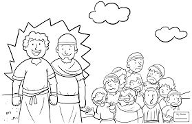 Coloring Pages Moses Christianity Bible Blood On The Doorposts Bible Coloring Pages Moses