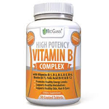 vitamins for hair over 50 vitamin b complex 100 supplement 50ct bioganix