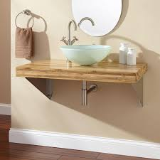 Bamboo Bathroom Furniture Bathroom Wall Mounted Bathroom Vanity For Bathroom