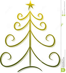 abstract christmas tree clipart clipartxtras