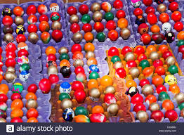 decorative eggs for sale colorful decorated eggs filled with confetti are offered for sale