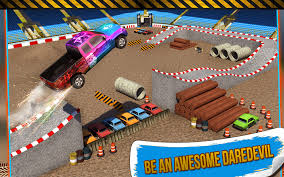 monster truck race track toy 4x4 monster truck stunts 3d android apps on google play