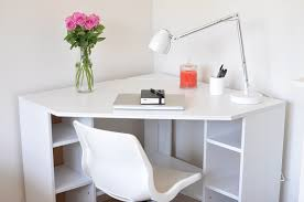 Ikea White Desk With Hutch Adorable Corner Dresser Ikea Ikea Borgsjö Desk Creative Small