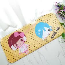 long ls for bedroom new piano keys printed creative cartoon mat long absorbent non slip