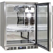 glass door bar heated glass 1 door commercial stainless steel bar fridge