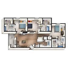 modern floor plan modern floor plans for auburn students the beacon