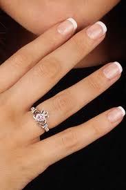 clatter ring birthstone silver claddagh ring ls sl90 10