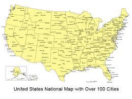 printable map of usa printable map of usa and cities at maps