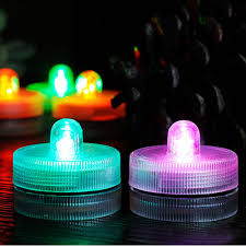 5 pcs led candle waterproof floating birthday candles christmas