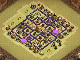layout design th7 12 best town hall th7 war farming hybrid and trophy base designs