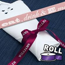customized ribbon custom ribbon rolls printed with your logo and text