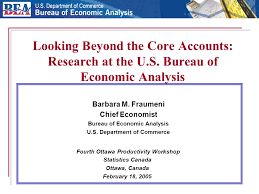 us department of commerce bureau of economic analysis looking beyond the accounts research at the u s bureau of