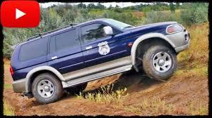 mitsubishi pajero sport off road control youtube