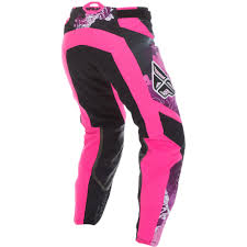 fly womens motocross gear fly racing 2017 ladies mx gear new kinetic pink purple womens