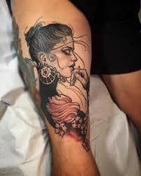 jeff norton tattoos tattoos new victorian lady on david from sd