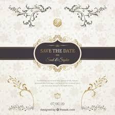 de mariage carte d invitation de mariage télécharger des vecteurs gratuitement